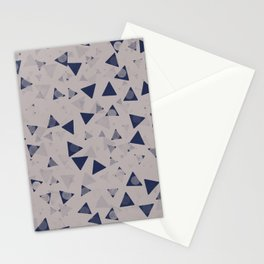 When triangles develop small circles #611 Stationery Cards