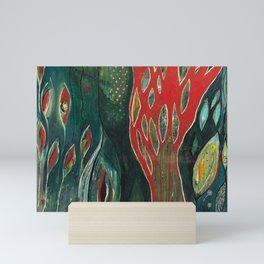 Flamboyant Tree Mini Art Print