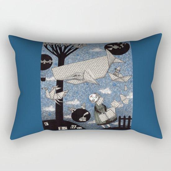 When I read... Rectangular Pillow