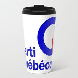 Parti Quebecois (PQ) Logo Travel Mug