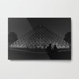 BNW Louvre - LG Metal Print