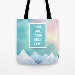 Your Only Limit Quote Tote Bag