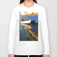water colour Long Sleeve T-shirts featuring Water Colour by David Jessamy