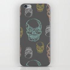 Flirty Skulls iPhone & iPod Skin