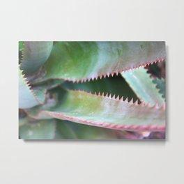 Pink Teeth Metal Print