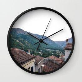 Paesino Wall Clock