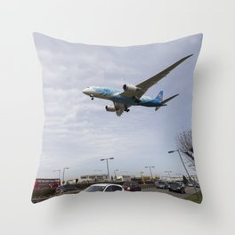 China Southern Boeing 787 Throw Pillow