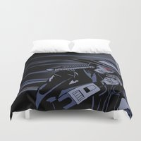 bane Duvet Covers featuring Galaxy Gangsters & Cad Bane by Princess Anakin