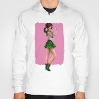 sailor jupiter Hoodies featuring Sailor Jupiter by KlsteeleArt