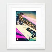 kill la kill Framed Art Prints featuring Kill! Kill! by LA CRISE
