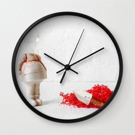 Little MIss Hissy Fit Wall Clock