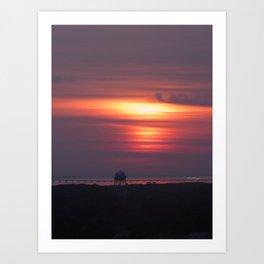 Bay Sunrise Art Print