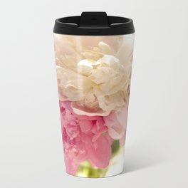 Flowers Metal Travel Mug