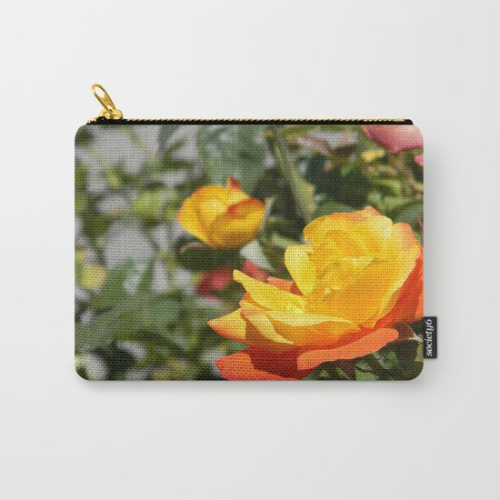 Blooming Gold... Carry-All Pouch
