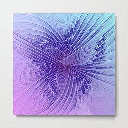 fractal design -350- Metal Print