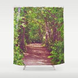 Lovers' Lane Shower Curtain