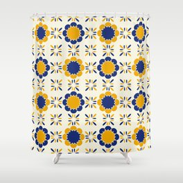 Lisboeta Tile Shower Curtain