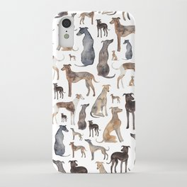 Greyhounds and Whippets iPhone Case