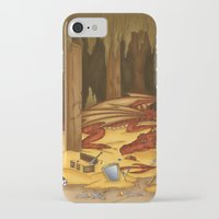 smaug iPhone & iPod Cases featuring Smaug, the last dragon by danielasynner