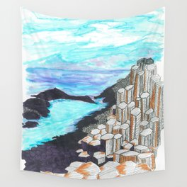 The Giants Causeway Wall Tapestry