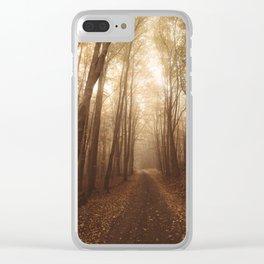 Autumn mood Clear iPhone Case