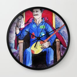 King of Space Wall Clock