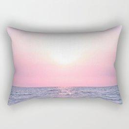 Calming Sea view Rectangular Pillow