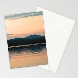 Long Lake Adirondack Sunset Stationery Cards