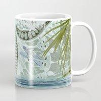 tiffany Mugs featuring tiffany lake by Ariadne