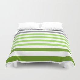 Stripes Gradient - Green Duvet Cover