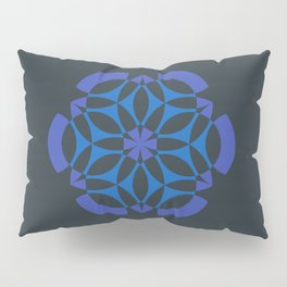 Stealthy sense | Abstract sacred geometry | Aliens crop circle Pillow Sham