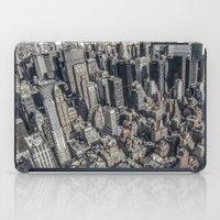 manhattan iPad Cases featuring Manhattan by Nicklas Gustafsson