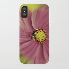Hoverfly in the Pink Slim Case iPhone X