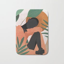 Tropical Girl 10 Bath Mat