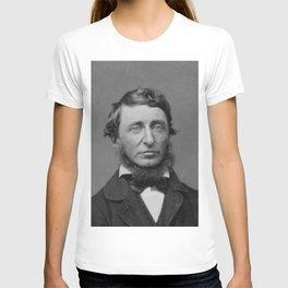 Benjamin Maxham - portrait of Henry David Thoreau T-shirt