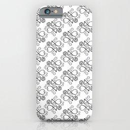 Meh Fish Pattern iPhone Case