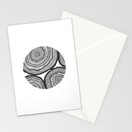 Tree Rings- Circle Stationery Cards
