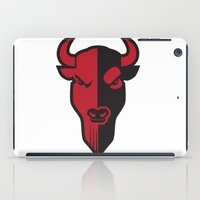 bison iPad Cases featuring Bison by Jhonatan Medina