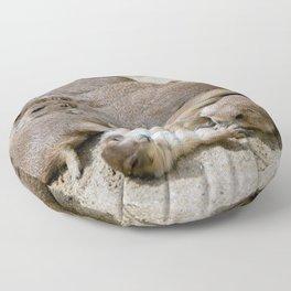 Prairie dog love Floor Pillow