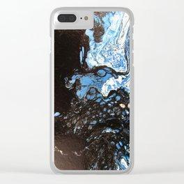 Blue Lagoon Clear iPhone Case
