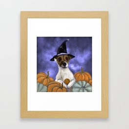 Mabel, Queen of the Pumpkin Patch Framed Art Print
