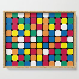Rubik's cube Serving Tray