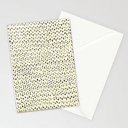 White Stockinette Stationery Cards