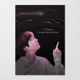 Kim Taehyung Canvas Print