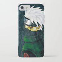 kakashi iPhone & iPod Cases featuring Great Talent by BradixArt