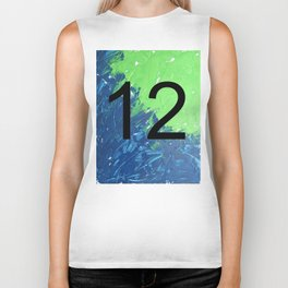 Blue & Green, 12, No. 2 Biker Tank