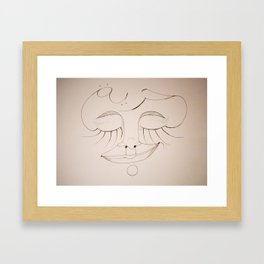 Huriyya Framed Art Print