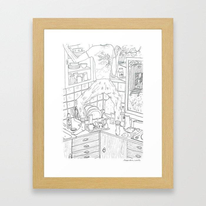 beegarden.works 014 Framed Art Print