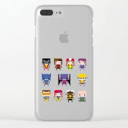 Pixel X-Men Clear iPhone Case