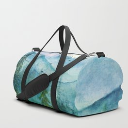 Spring Mountainscape Duffle Bag